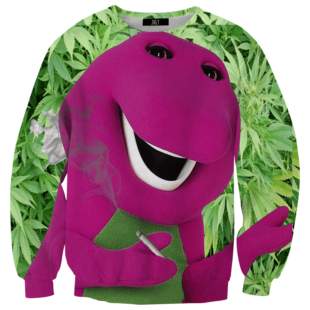 Sweater - I Love Weed, You Love Me