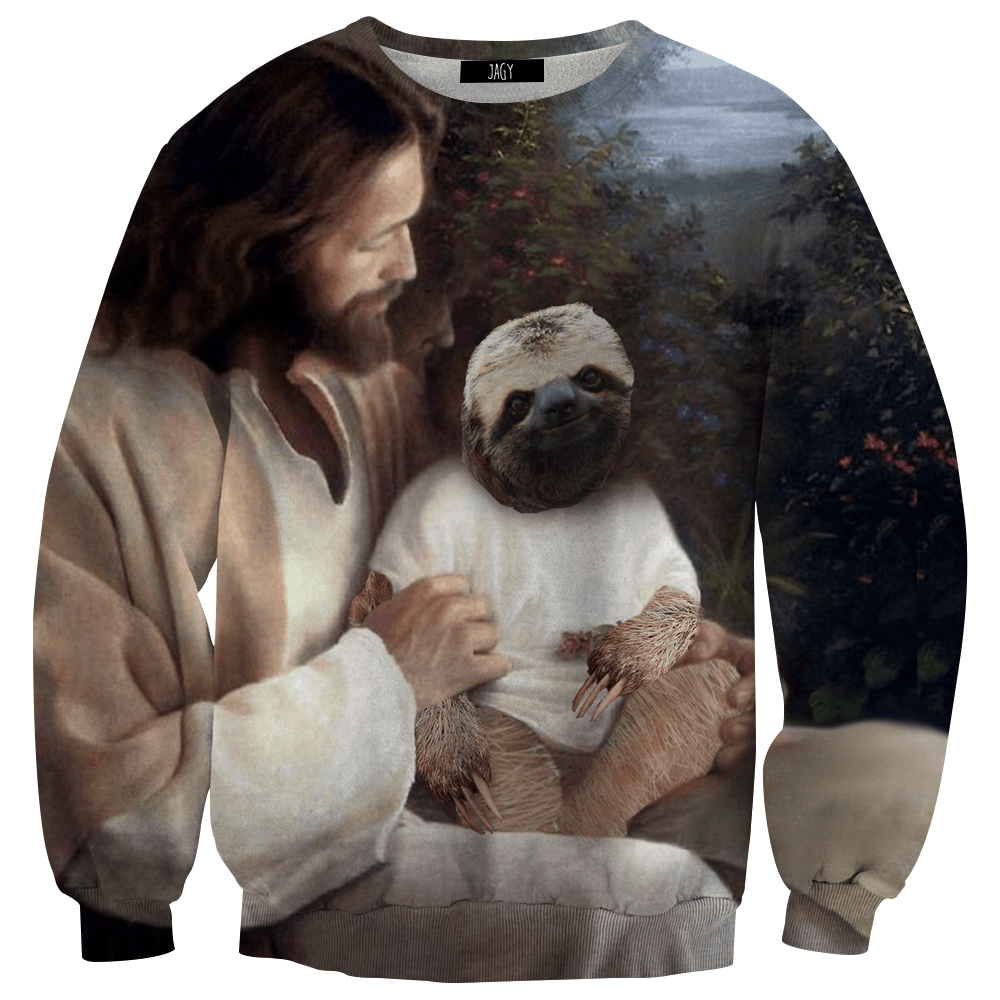 Sweater - Jesus' Pet Sloth