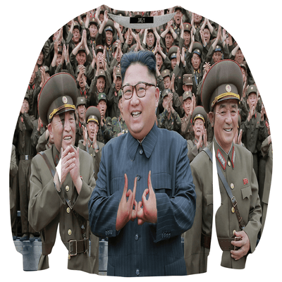 Sweater - Kim Jong Un Gang Sign