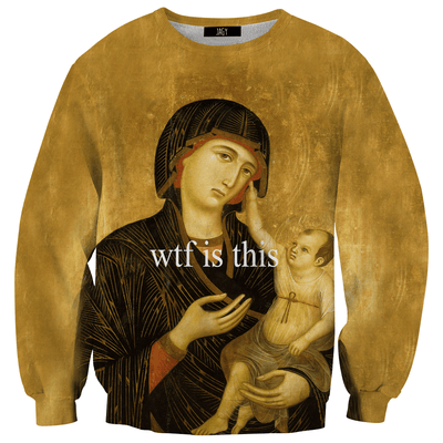 Sweater - Medieval WTF Is This