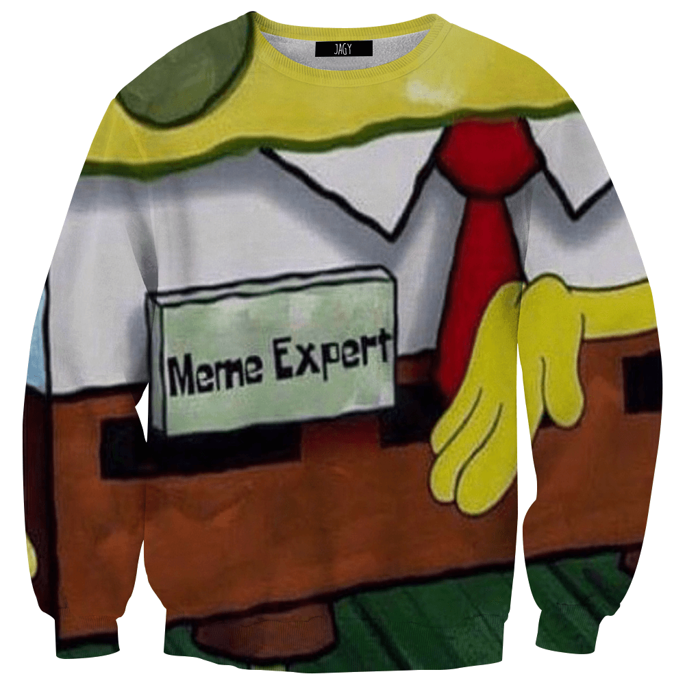 Sweater - Meme Expert