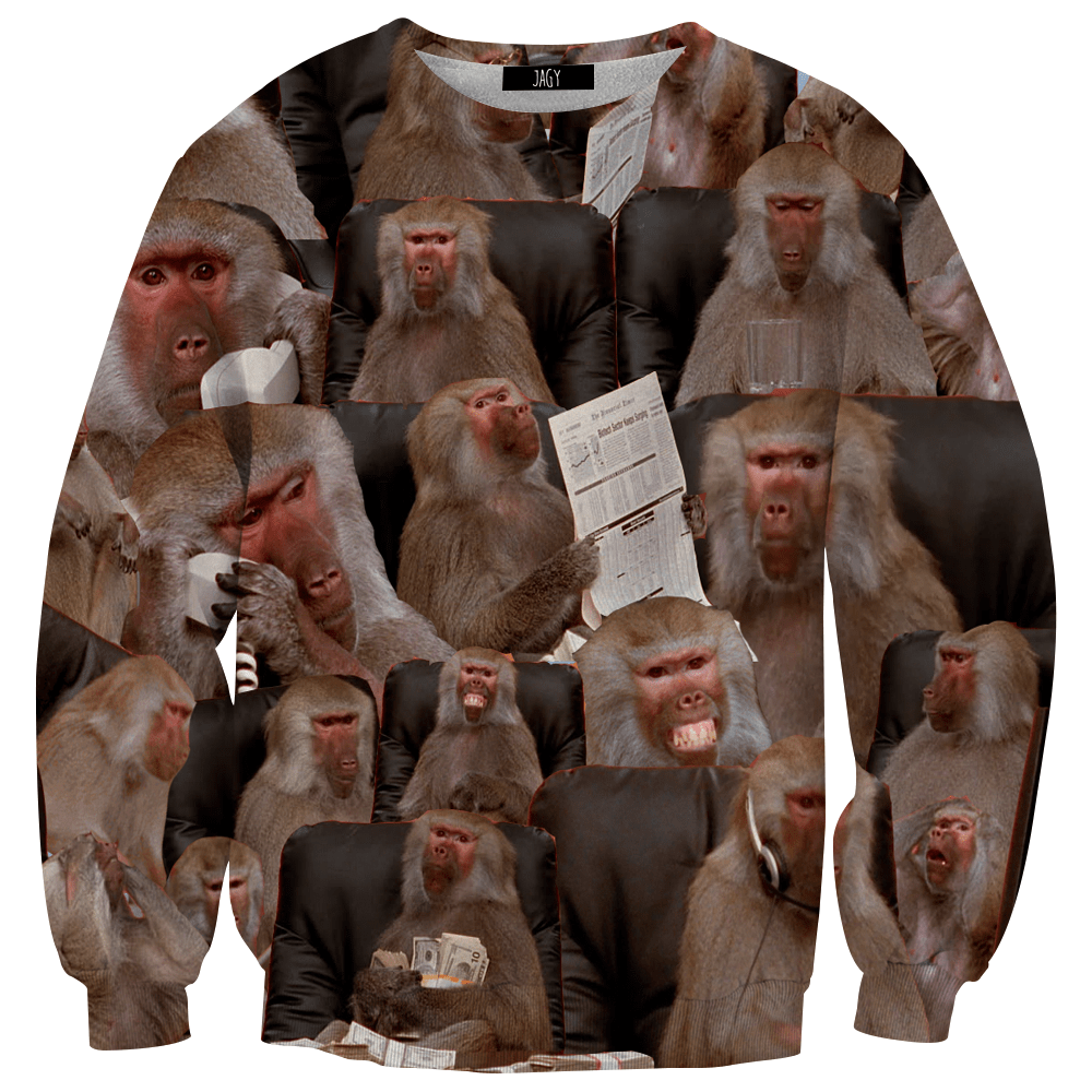 Sweater - Office Baboon