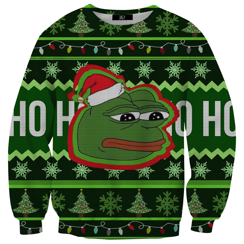 Sweater - Pepe Ugly Christmas Sweater
