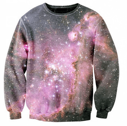 Sweater - Pink Galaxy