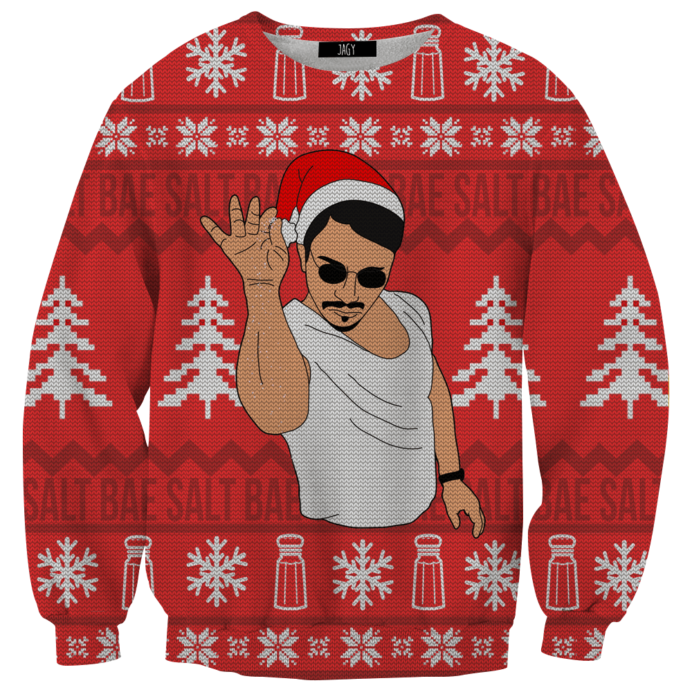 Sweater - Salt Bae Ugly Sweater Sweatshirt