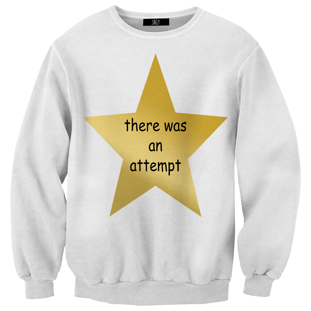 Sweater - There Was An Attempt Award
