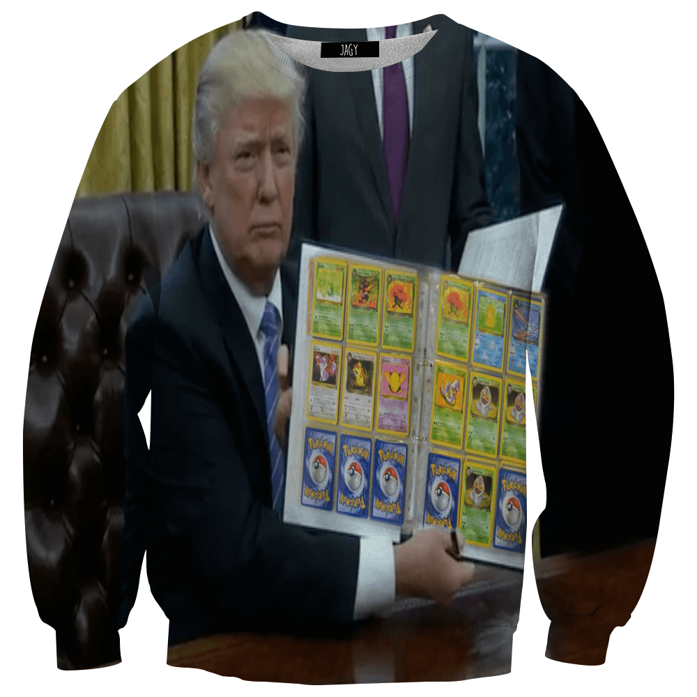 Sweater - Trump's Pokemon Cards