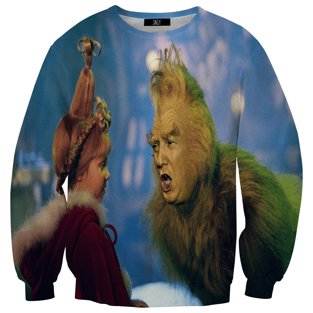 Sweater - Trump The Grinch