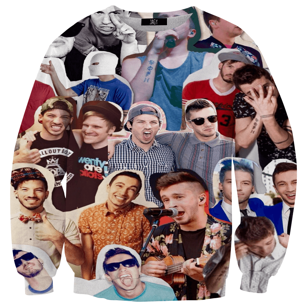 Sweater - Twenty One Pilots Collage