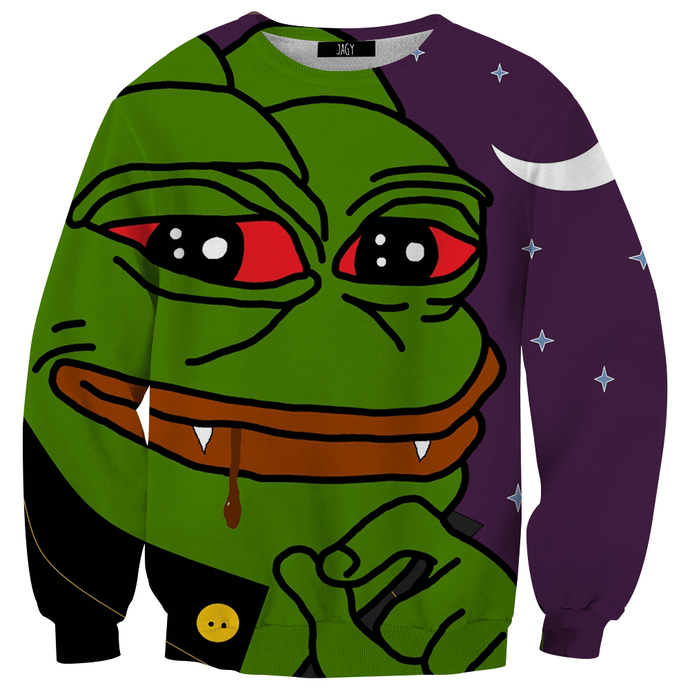 Sweater - Vampire Pepe Sweatshirt