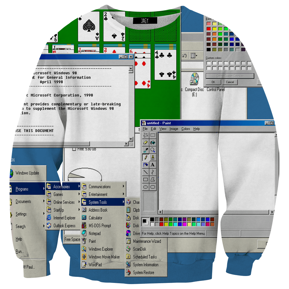 Sweater - Windows 98
