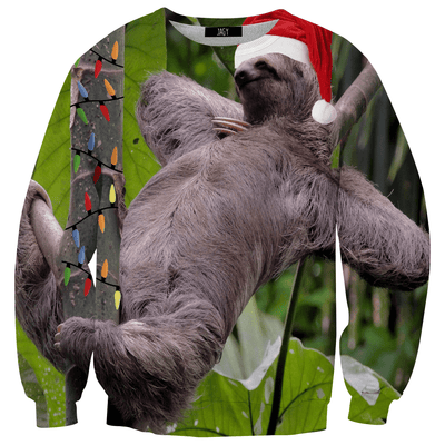 Sweater - Xmas Sloth