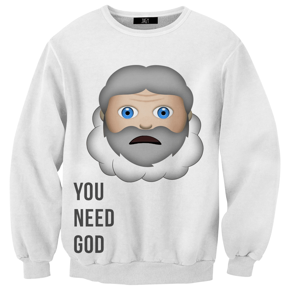 Sweater - You Need God