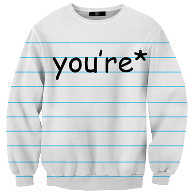 Sweater - You're*