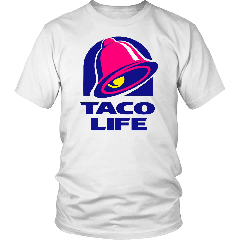 T-shirt - Taco Life Graphic Tee