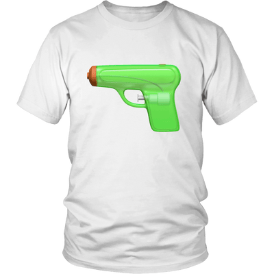 T-shirt - Water Gun Emoji Graphic Tee