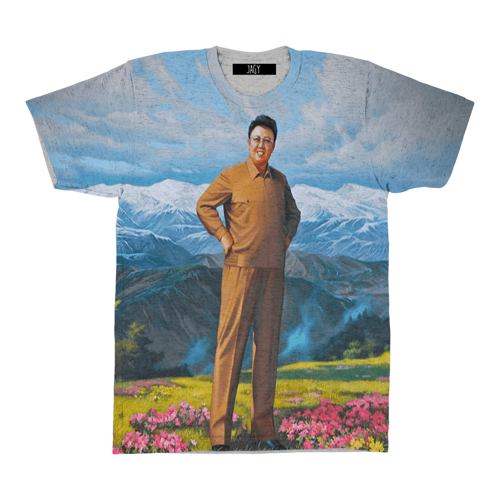 T-Shirts - Glorious Kim Jong II