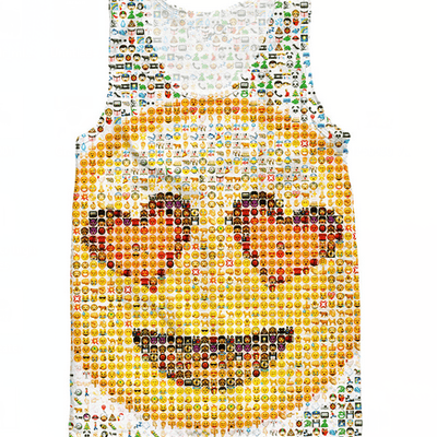 Tank Tops - Emoji Love