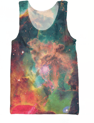 Tank Tops - Nebula Galaxy