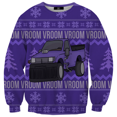 Thanos Car Ugly Christmas Sweater Sweatshirt