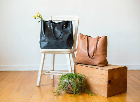 Elevate Traveler Tote Leather