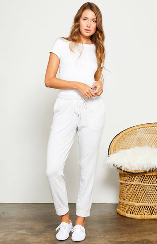 Gentle Fawn Dumont Pants In Light Grey