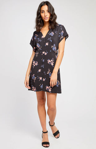 Gentle Fawn Georgia Dress In Raven Echo Floral