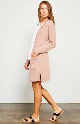 Gentle Fawn Tara Cardigan In Ash Rose