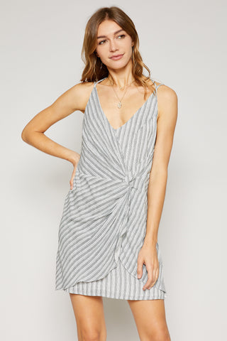 On The Road Striped Mini Dress