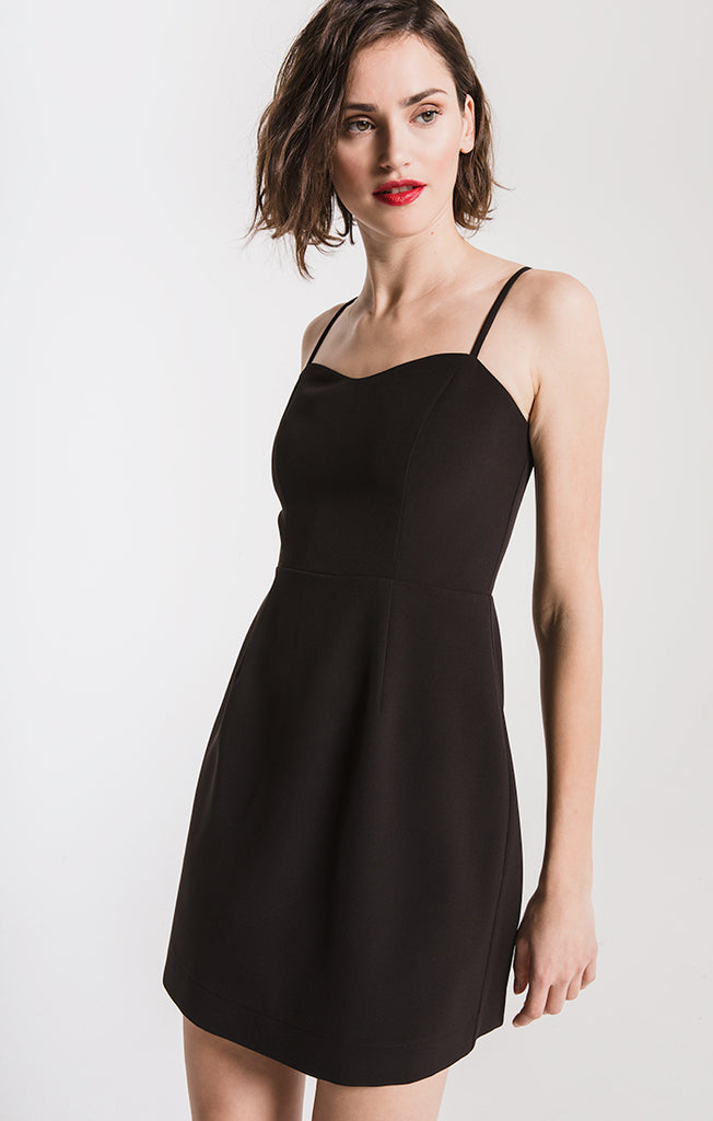 Black Swan Lourdes Mini Dress In Black