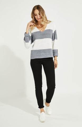 Tucker Stripe Sweater