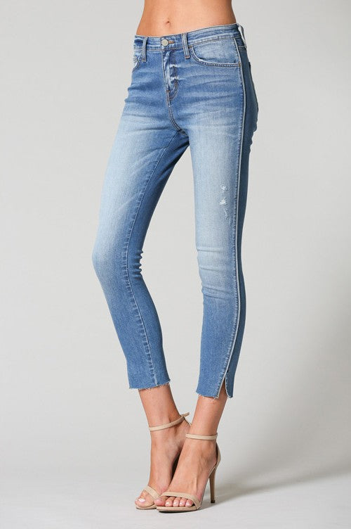 Glinda Ankle Jeans In High Dive