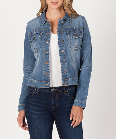 Amelia Denim Jacket, Empathetic Wash