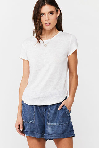 Blaykee Short Sleeve Tee, White