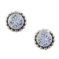 Bali Crystal Post Earrings