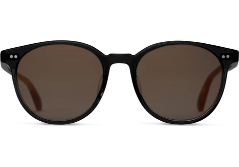 TOMS Bellini Sunglasses In Matte Black