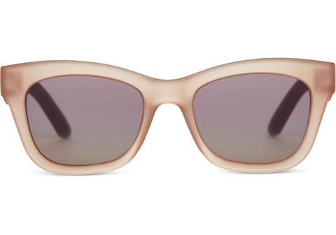 Traveler Paloma Sunglasses In Matte Grapefruit By Toms