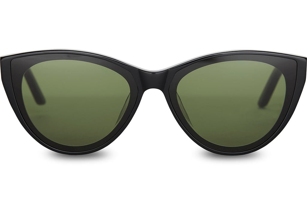 Toms Josie Sunglasses In Shiny Black