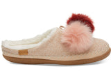 Women's Rose Cloud Pom Pom Ivy Slipper
