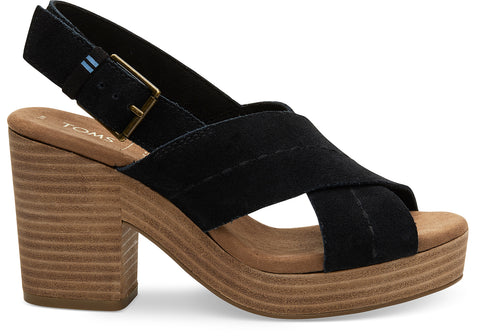 Ibiza Sandal In Black By Toms