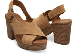Ibiza Sandal In Honey By Toms