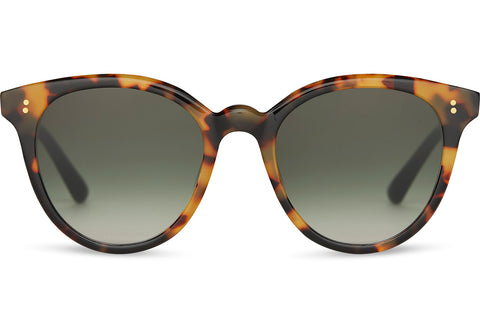 TOMS Aaryn Sunglasses In Blonde Tortoise