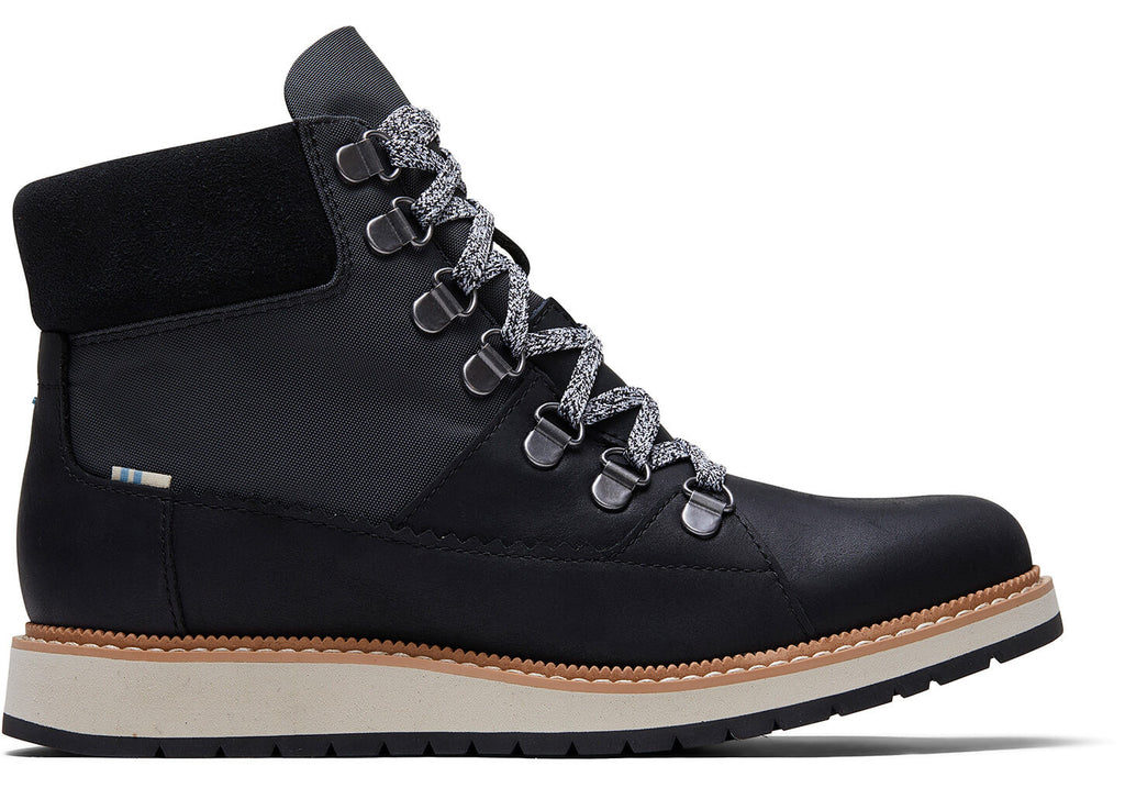 TOMS Waterproof Mesa Boots in Black