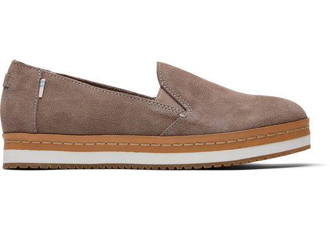TOMS Palma Wrap Slip-Ons In Taupe