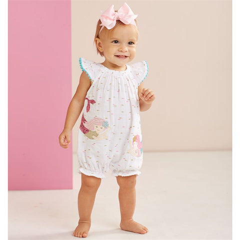Muslin Mermaid Bubble Romper