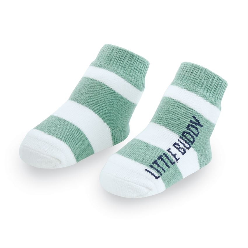 Little Buddy Striped Baby Socks