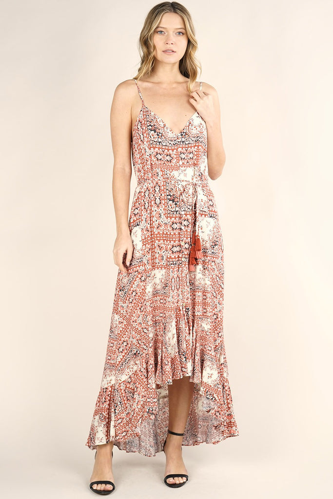 Serafina High Low Maxi Dress