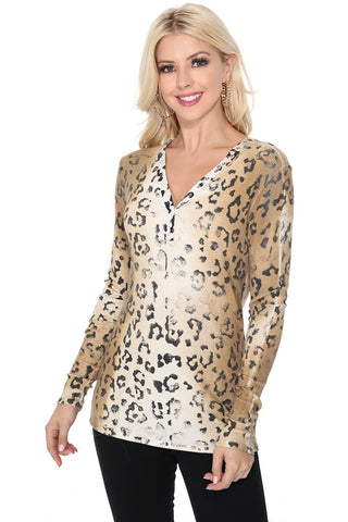 Talia Leopard Henly