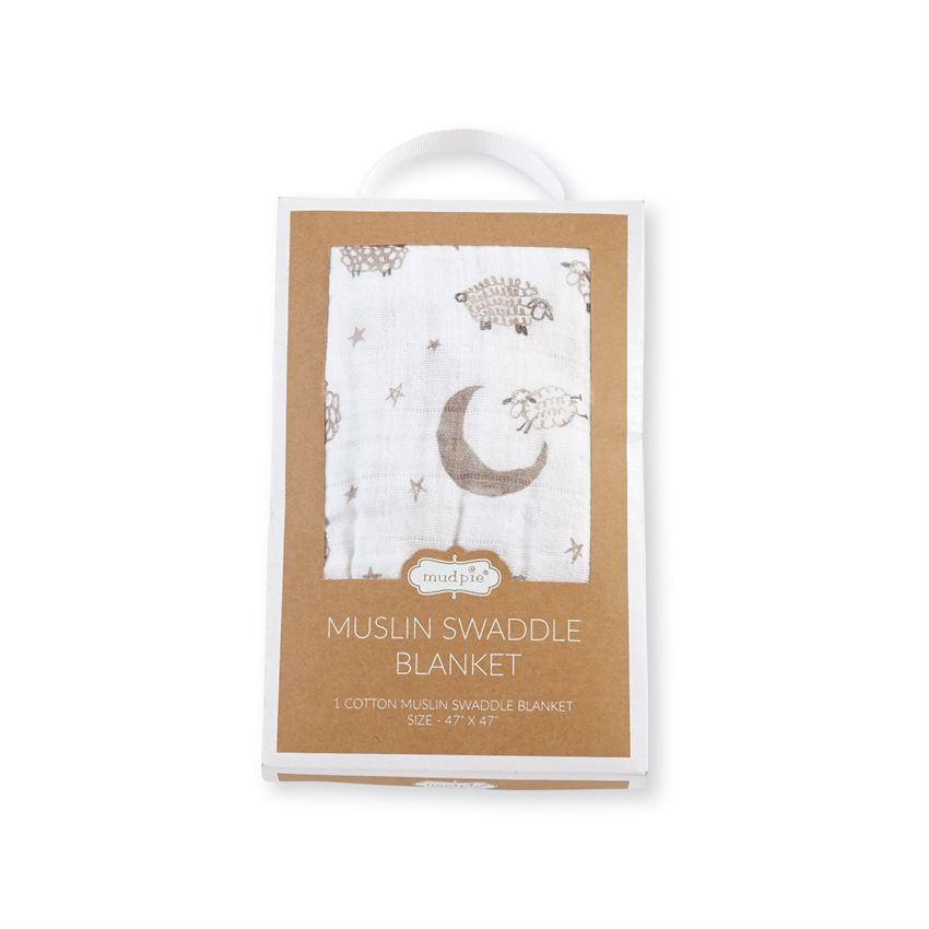 Counting Sheep Boxed Swaddle