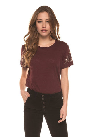 Felicity Floral Embroidered Tee